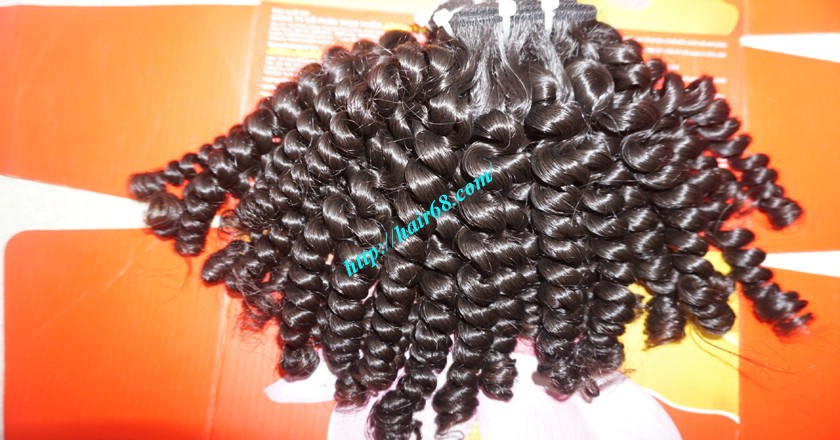 12 inch Weave Curly Hair Extensions 5