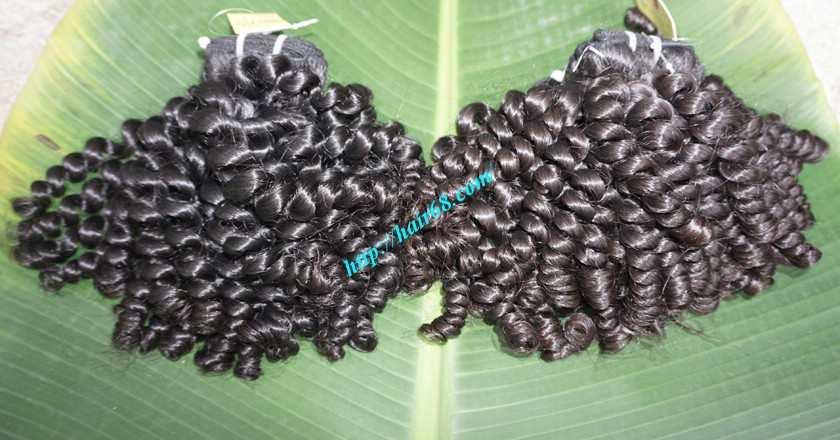 12 inch Weave Curly Hair Extensions 6