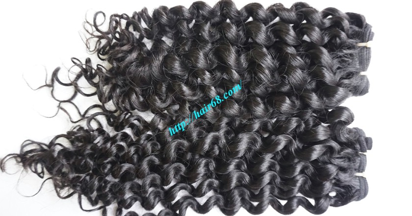 12 inch Curly Weave Hair Extensions– Single Drawn 2