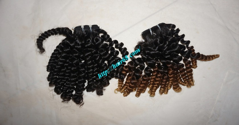 12 inch Curly Weave Hair Extensions– Single Drawn 4