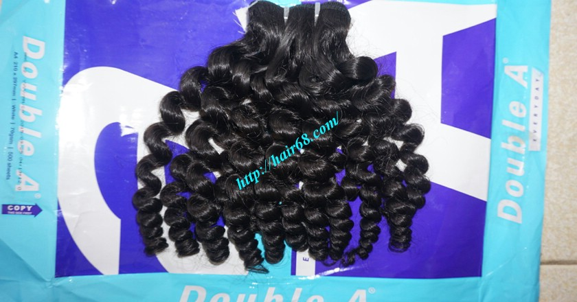 12 inch Curly Weave Hair Extensions– Single Drawn 6