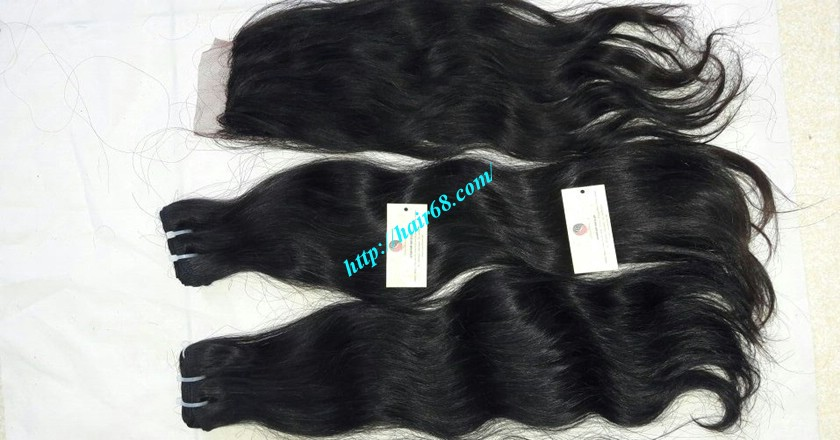 12 inch Natural wavy hair extensions – Natural Wavy 5