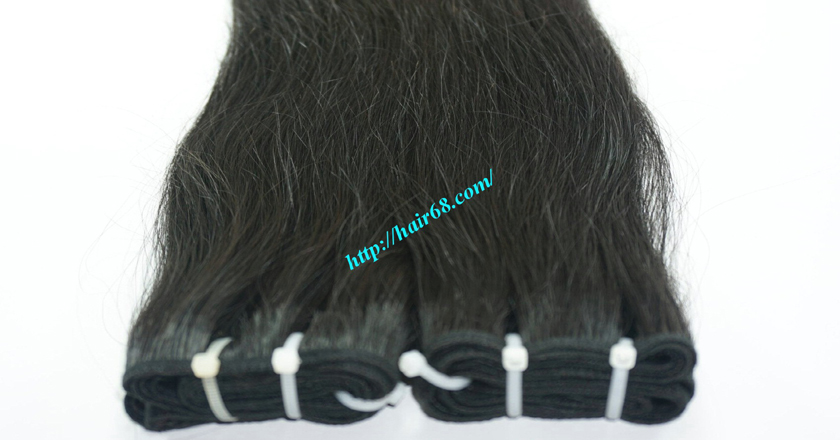 12 inch best hair black hair weave extensions 5