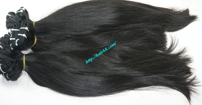 12 inch best hair black hair weave extensions 6