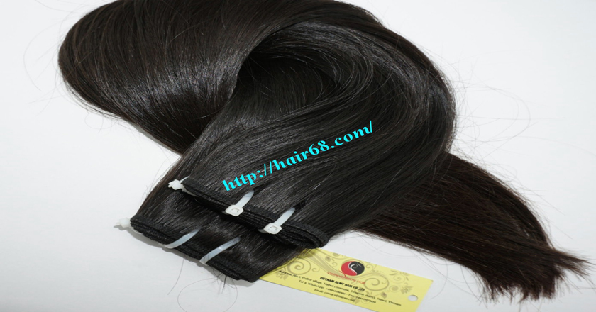 12 inch best hair black hair weave extensions 7