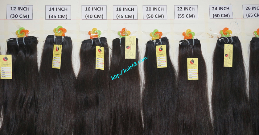12 inch best human hair weave single straight 11
