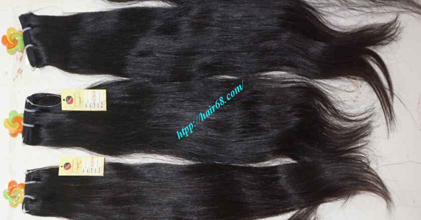 12 inch best human hair weave single straight 12