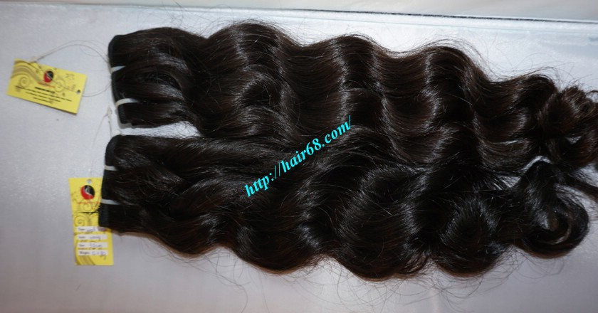 12 inch Weave Hair Extensions - Steam Wavy 2