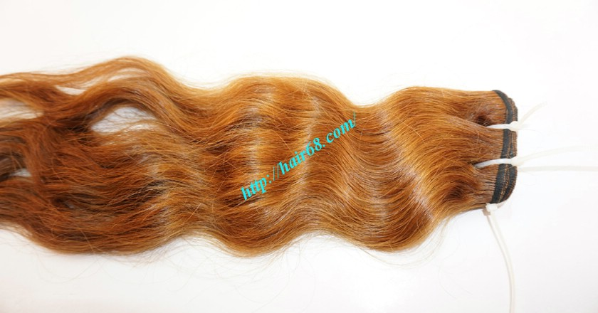 12 inch Weave Hair Extensions - Steam Wavy 3