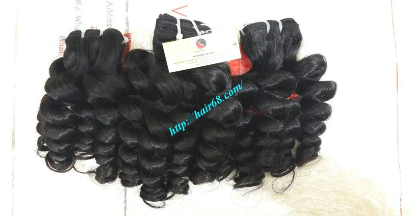 12 inch Weave Hair Extensions - Steam Wavy 5