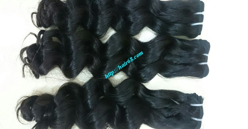 12 inch Weave Hair Extensions - Steam Wavy 6
