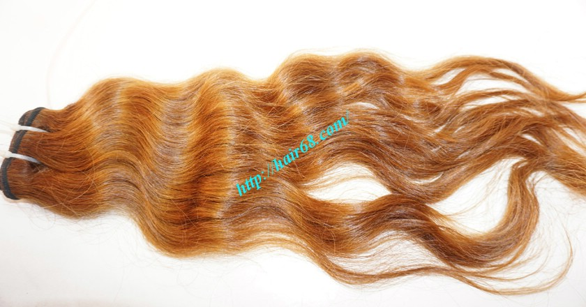 12 inch Wavy Hair Weave Extensions - Steam Wavy 3