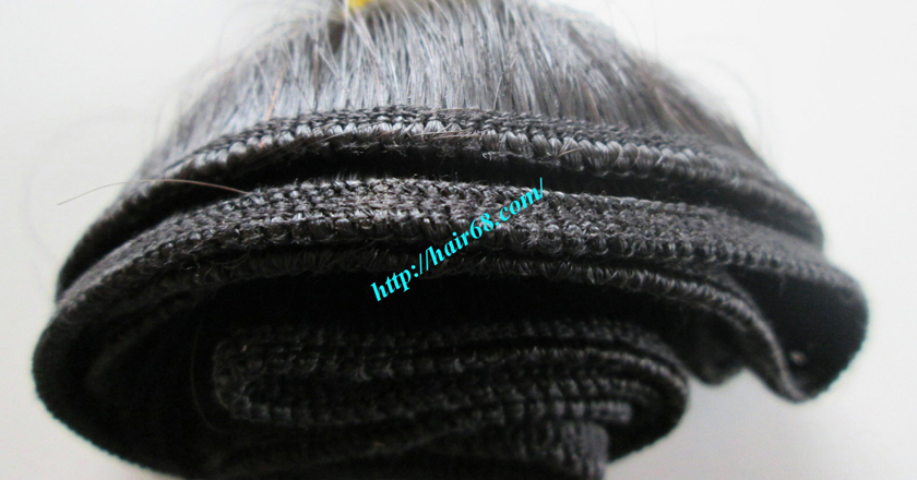 14 inch Natural Human Hair Weave 1