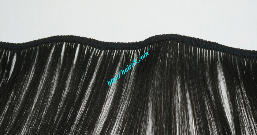 14 inch Natural Human Hair Weave 2