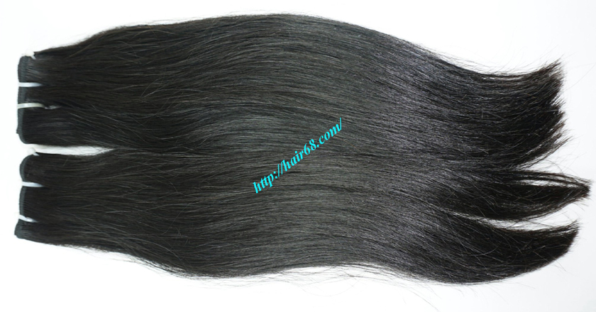 14 inch Natural Human Hair Weave 4