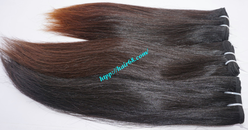 14 inch Natural Human Hair Weave 7