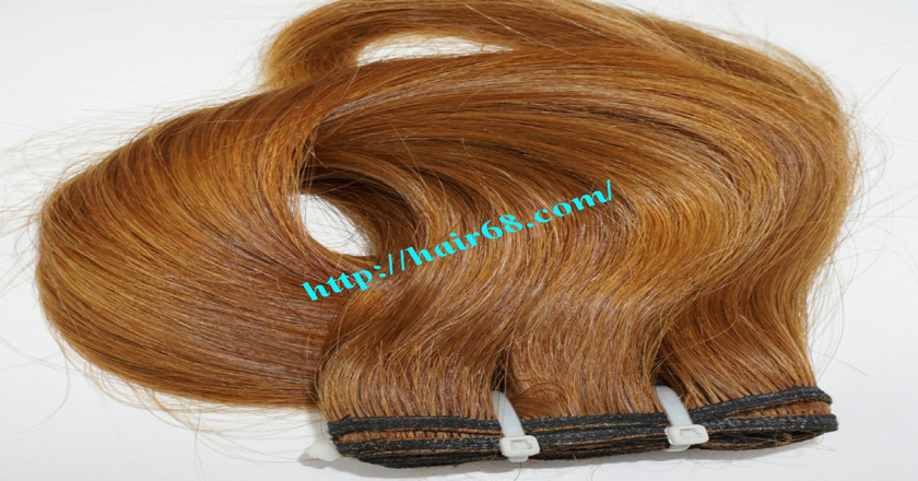 14 inch Natural Human Hair Weave 9