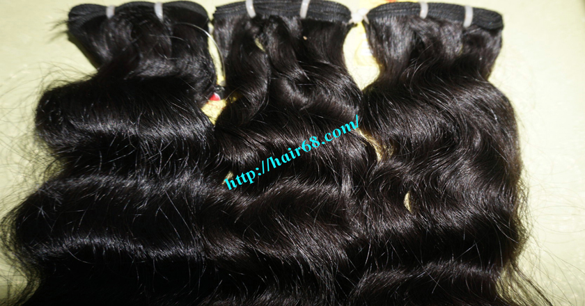 14 inch Wavy Weave Hair Products - Steam Wavy 1