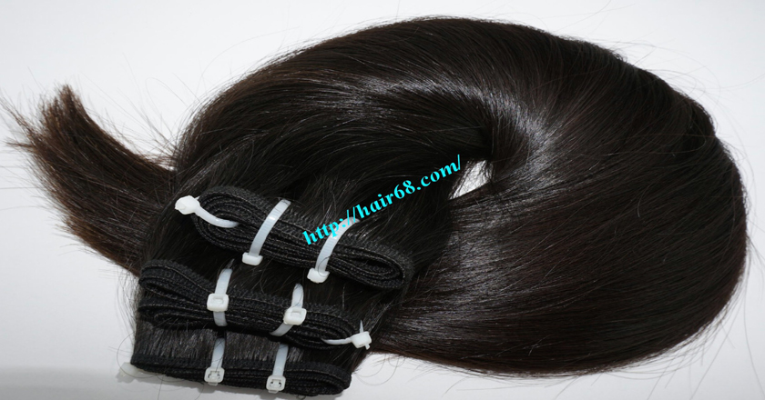 16 inch Weave Remy Hair Extensions 5