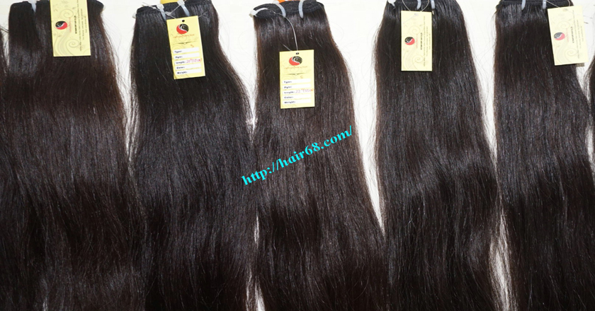 16 inch weave remy hair extensions vietnam hair single straight 12