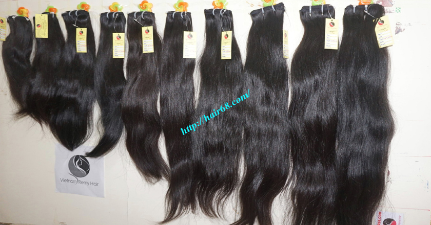16 inch weave remy hair extensions vietnam hair single straight 13