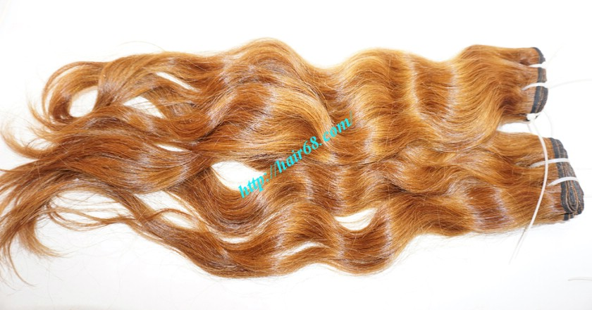 16 inch Wavy Hair Weave Extensions - Steam Wavy 3