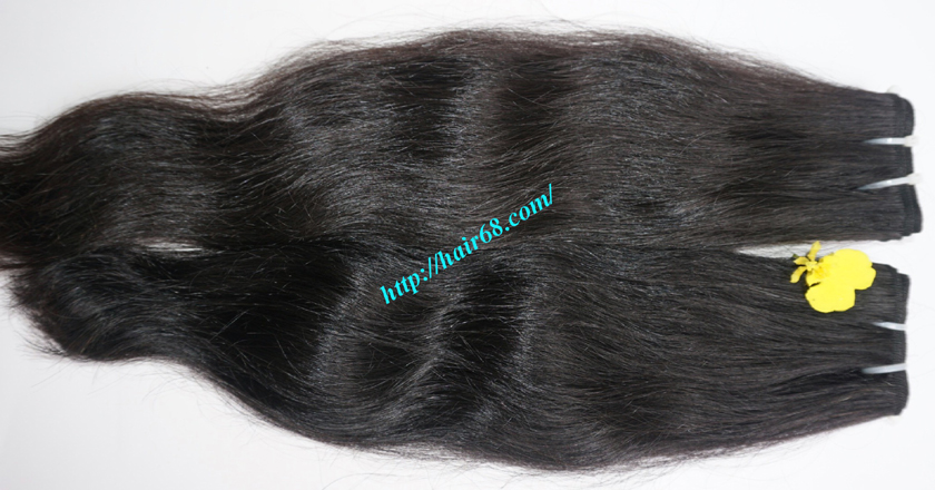 16 inch Wavy Human Hair Weave – Natural Wavy 1