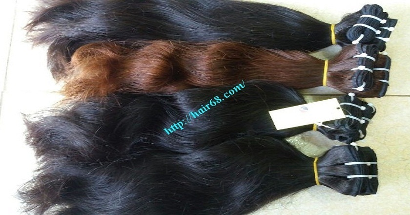 16 inch Wavy Human Hair Weave – Natural Wavy 3