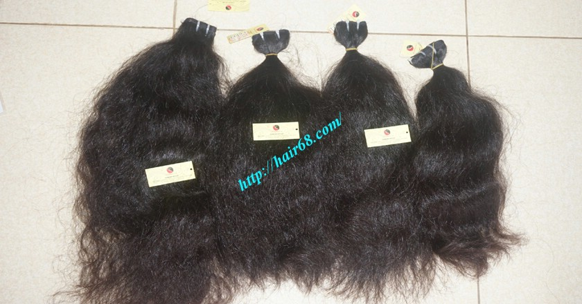 16 inch Wavy Human Hair Weave – Natural Wavy 5