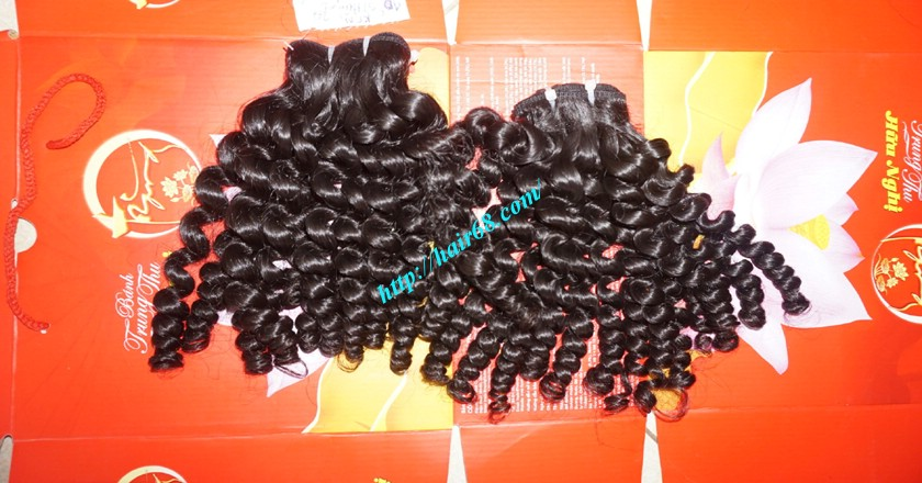 18 inch curly weave hair vietnam hair extensions 12