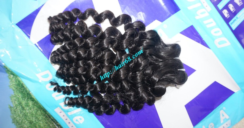 18 inch curly weave hair vietnam hair extensions 14