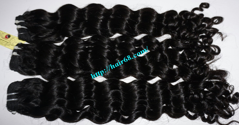 18 inch curly weave hair vietnam hair extensions 6