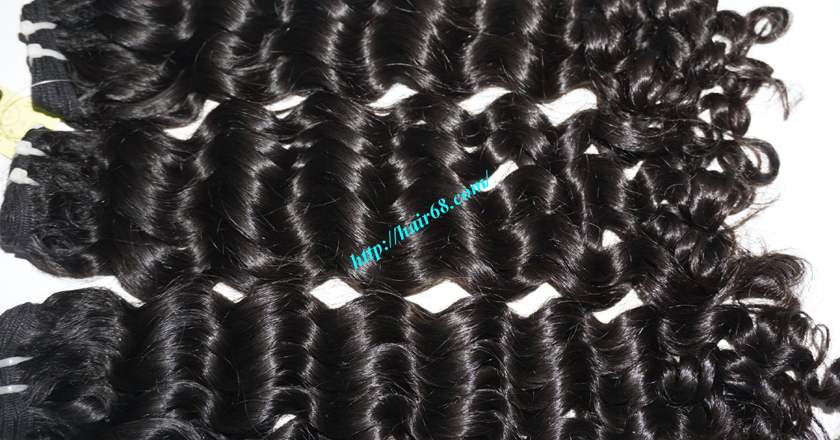 18 inch curly weave hair vietnam hair extensions 7