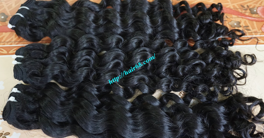 18 inch curly weave hair vietnam hair extensions 8