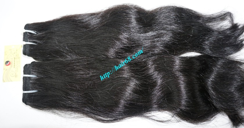 18 inch Wavy remy hair weave – Natural wavy 3
