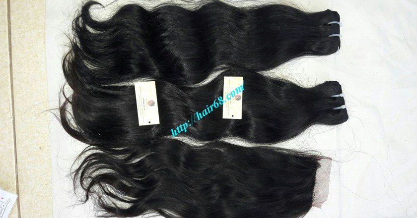 18 inch Wavy remy hair weave – Natural wavy 4
