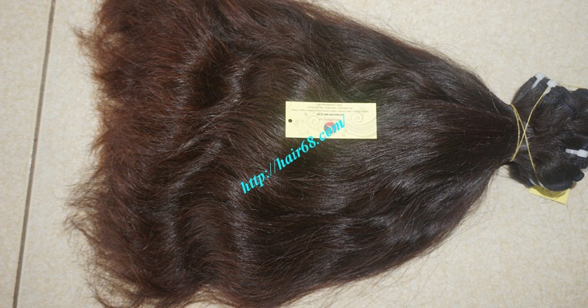 18 inch Wavy remy hair weave – Natural wavy 6