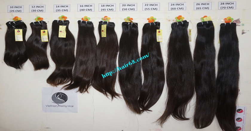 18 inch weave remy hair vietnam hair extensions 11
