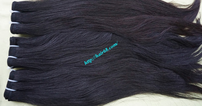 18 inch weave remy hair vietnam hair extensions 6