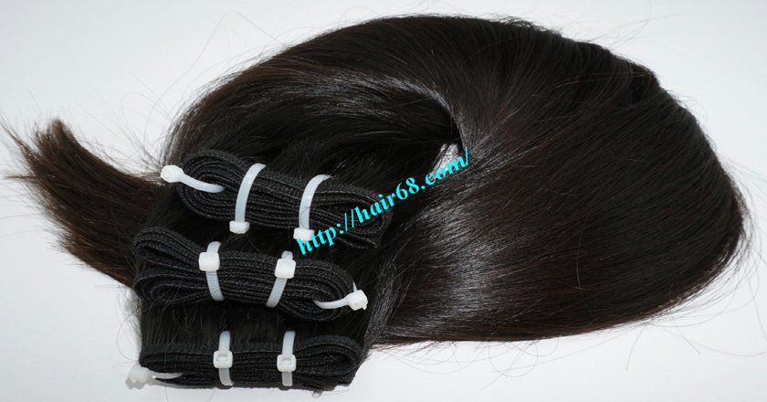 18 inch weave remy hair vietnam hair extensions 7
