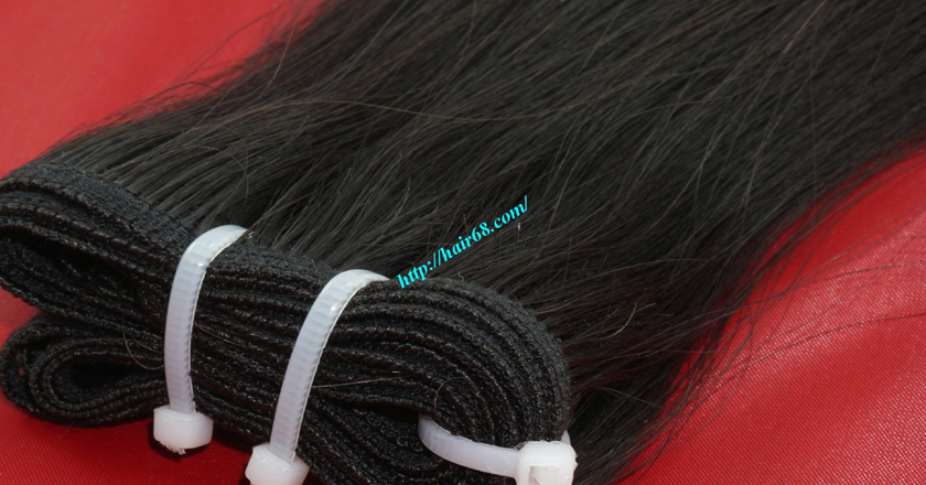 18 inch Natural Human Hair Weave 1