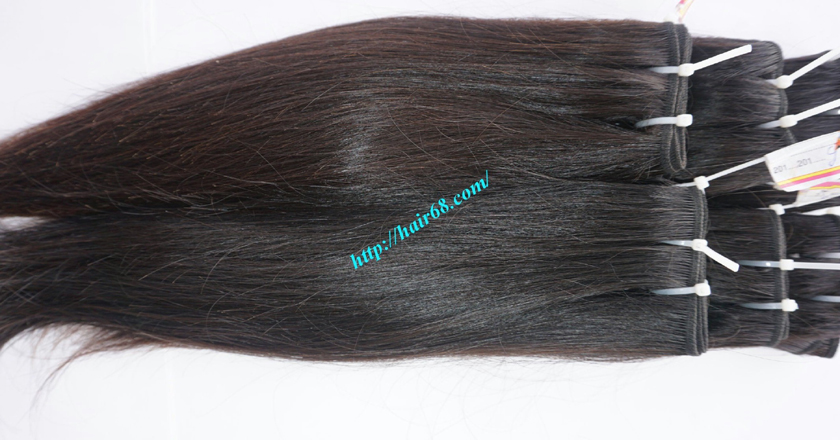 18 inch Natural Human Hair Weave 10