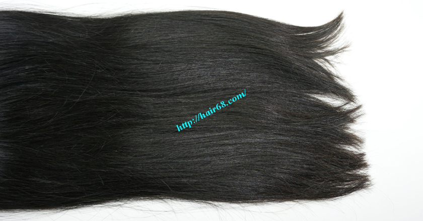 18 inch Natural Human Hair Weave 3