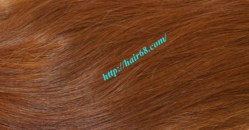 18 inch Natural Human Hair Weave 4