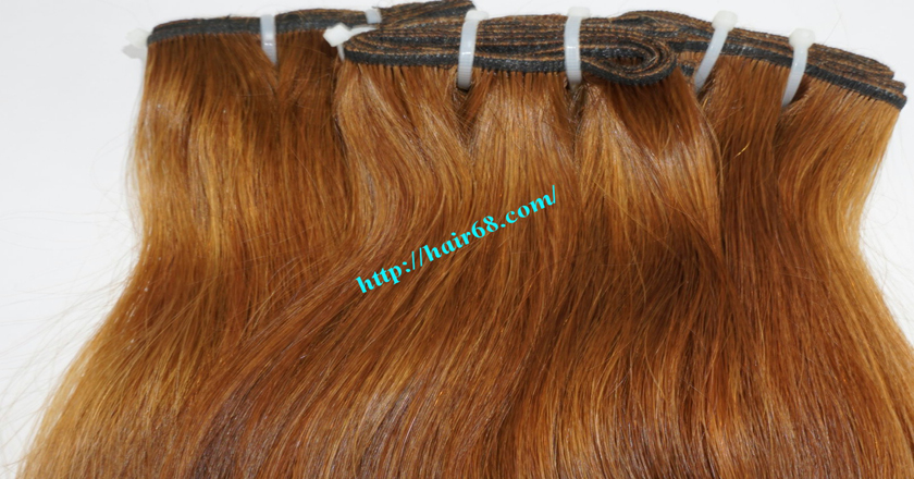 18 inch Natural Human Hair Weave 5