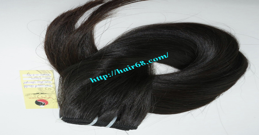 18 inch Natural Human Hair Weave 6