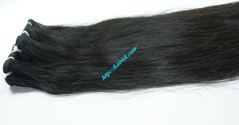 18 inch Natural Human Hair Weave 7