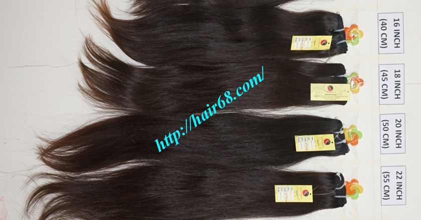 18 inch best natural human hair weave single straight 11