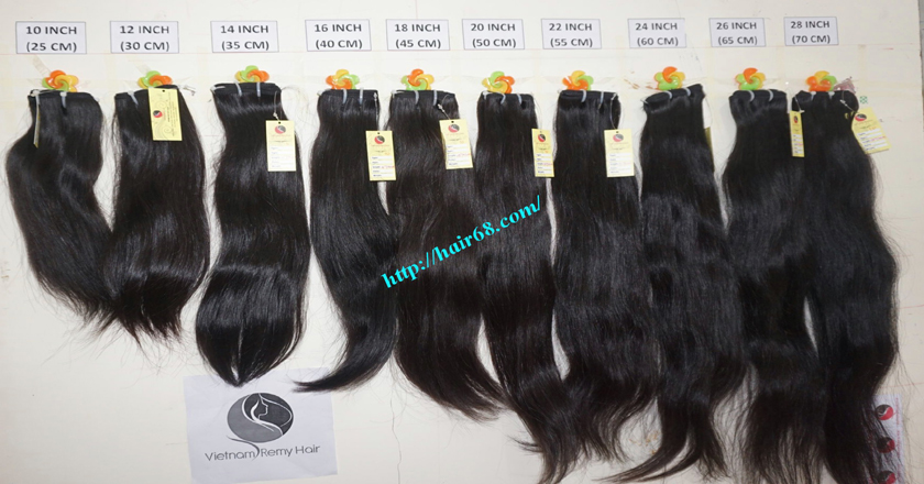 18 inch best natural human hair weave single straight 12