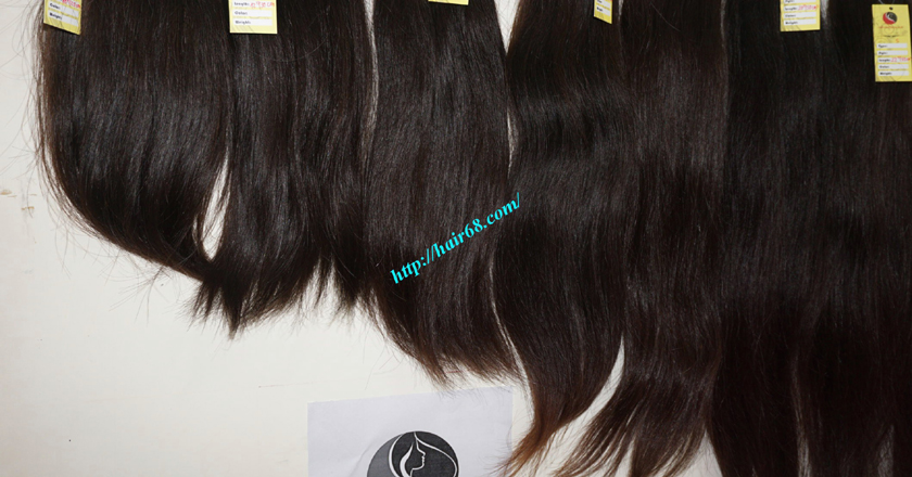 18 inch best natural human hair weave single straight 13